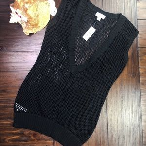 Ann Taylor LOFT Open Knit Sweater